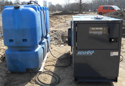 Экстплуатация дизельного генератора