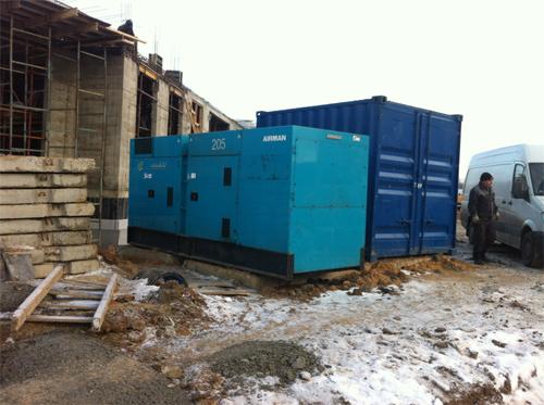 200 кВт для прогрева бетона