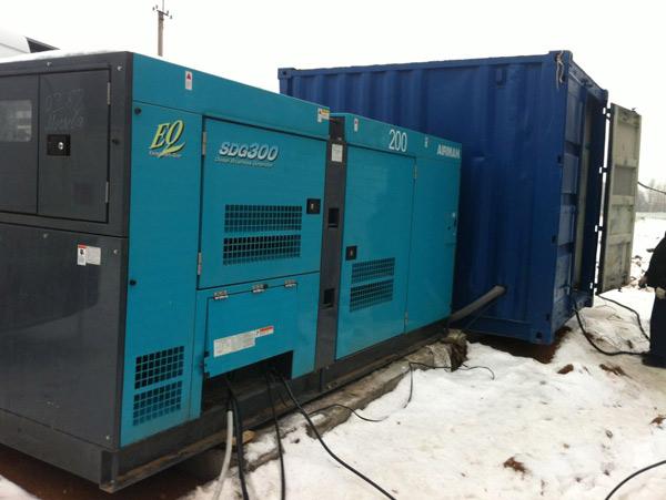 Аренда генератора 200 кВт - Airman SDG300