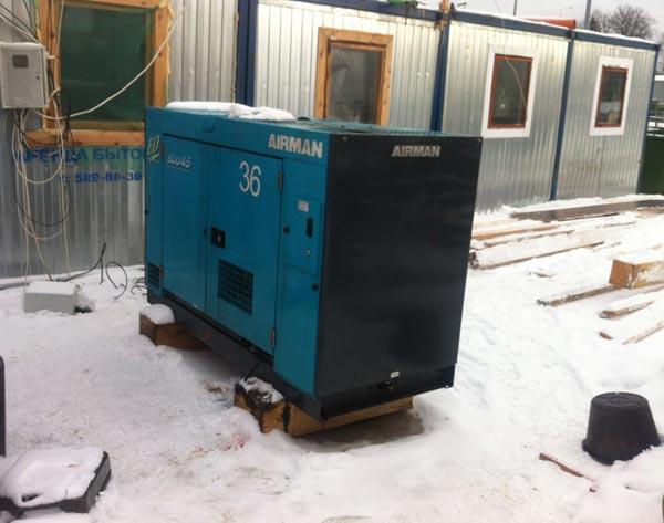 генератор 30 кВт для бытового городка