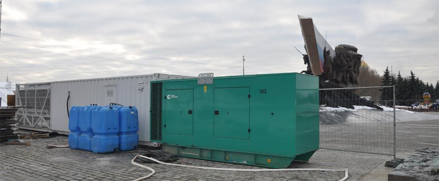 400 кВт для холодильника