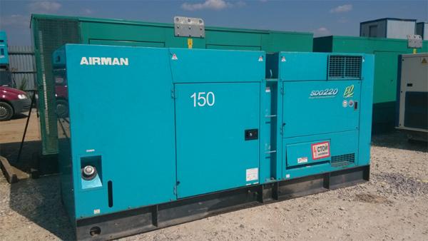 Аренда ПЭС 150 кВт - Airman sdg220s